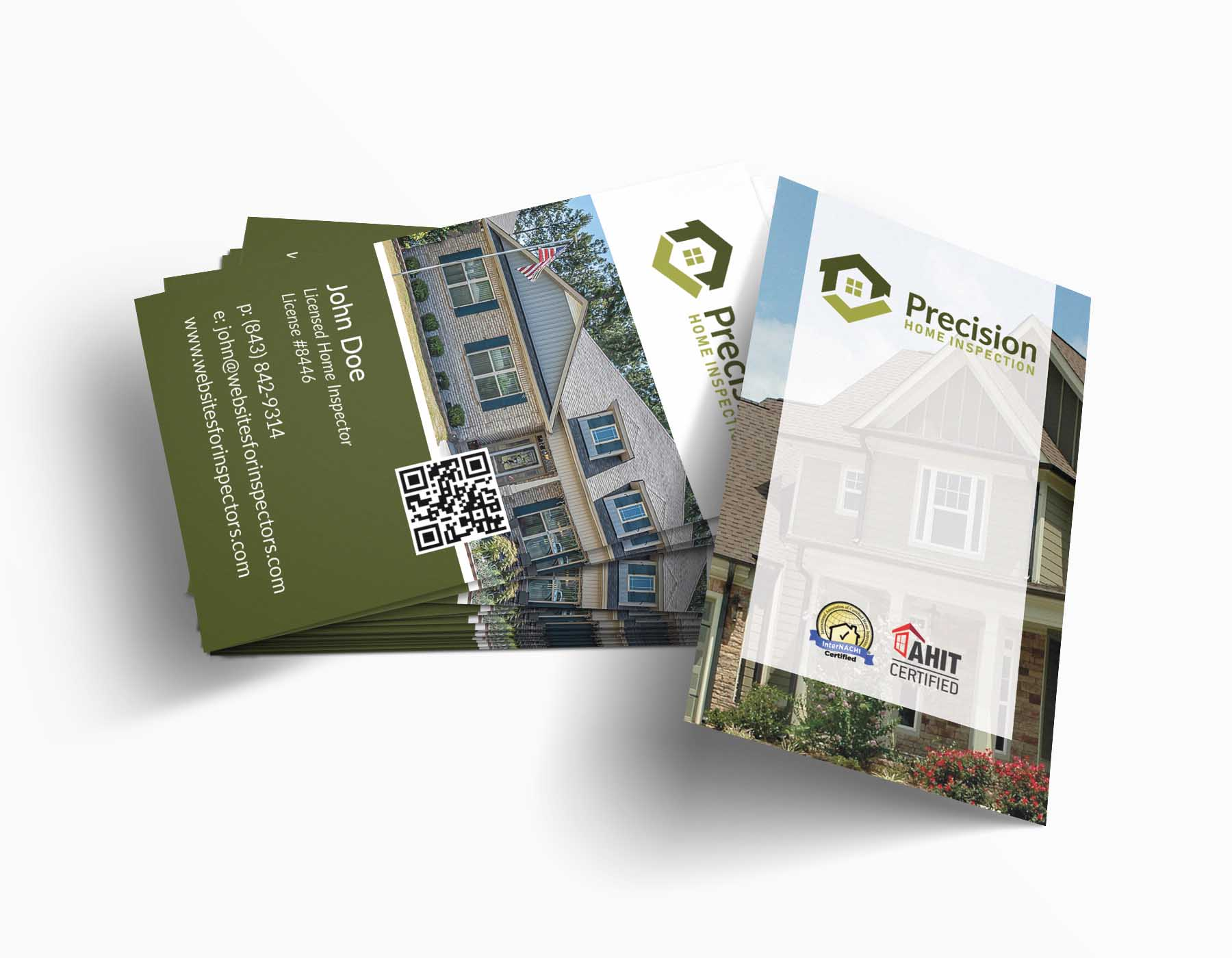 Business Cards For Home Inspectors